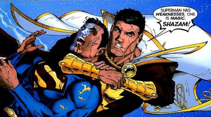 La primera vez que Superman mostró vulnerabilidad a la magia