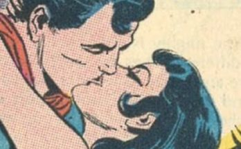 Beso Superman y Wonder Woman 348x215 - Superman y Wonder Woman se besan por primera vez