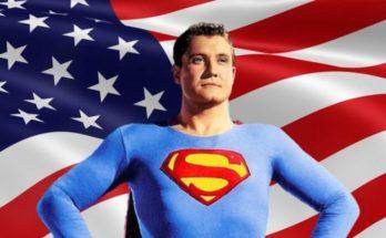 """american superman 777x437 1 348x215 - """"El estilo de vida americano"""" no fue originalmente parte de la interminable batalla de Superman"""