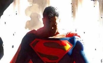 Superman Alex Ross 348x215 - Impresión limitada de Superman entre el arte exclusivo de Alex Ross en la Comic-Con 2019