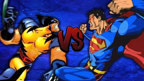 Lobezno VS Superman - ¿Quién ganaría en una pelea entre Superman y Wolverine?