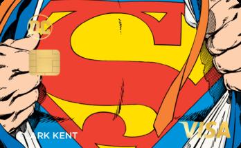 dc power visa superman 348x215 - La nueva tarjeta de crédito Rewards presenta personajes icónicos de DC Comics