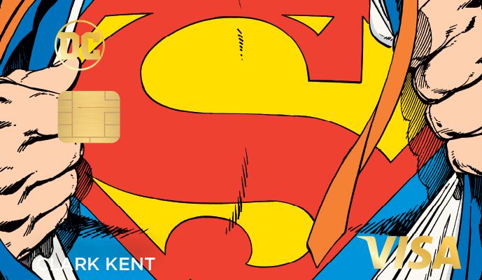 dc power visa superman 689x400 - La nueva tarjeta de crédito Rewards presenta personajes icónicos de DC Comics