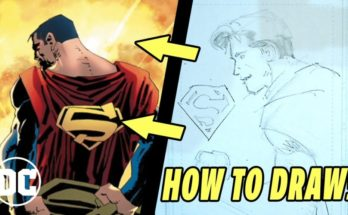 Romita dibuja a Superman 348x215 - Cómo  ̶n̶o̶  dibujar a Superman: con John Romita Jr. y Frank Miller
