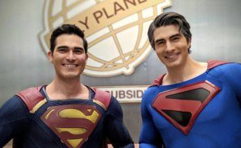 """Superman Crisis en Tierras Infinitas 348x215 - Los Superman de """"Crisis en Tierras Infinitas"""""""