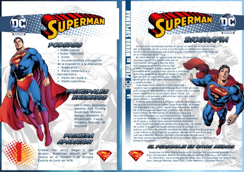 Ficha de Superman 1024x724 - DCpedia: Superman