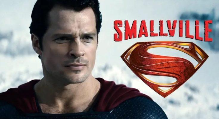 SmallvilleDeepFake 735x400 - Clark Kent de Tom Welling se convierte en Superman con la ayuda de Henry Cavill (1ª parte)