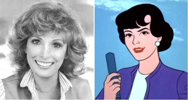 julie bennett lois lane - Muere la actriz de voz de Lois Lane, Julie Bennett