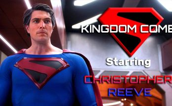 "Christopher Reeve como Superman Kingdom Come 348x215 - Christopher Reeve es Superman de Kingdom Come en el crossover ""Crisis en Tierras Infinitas"""