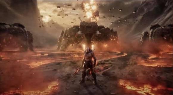 Darkseid - Ray Porter tiene una reacción perfecta al avistamiento de un cubo alienígena en el sol