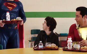 """Superman en Shazam 348x215 - El director de """"Shazam!"""" añade a Henry Cavill a la escena post-crédito de la mejor manera posible"""