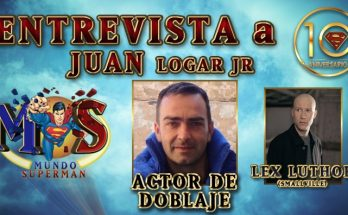Entrevista a Juan Logar 348x215 - Entrevista con Juan Logar Jr., actor de doblaje de Lex Luthor en «Smallville»