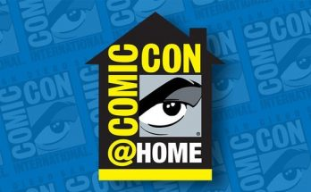 Comic Con at Home 348x215 - Comic-Con@Home 2020: Paneles y horarios que te pueden interesar