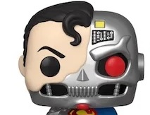 Cyborg Superman - Funko de Cyborg Superman ya disponible en la Comic Con