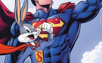 """Ed9IhBAWoAE0IO9 348x215 - 80 años del sello de """"Súper Conejo"""" de Bugs Bunny"""