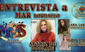 Entrevista a Mar Bordallo 348x215 - Entrevista a Mar Bordallo, actriz de doblaje de Lana Lang en «Smallville» y Lois Lane en el DCEU