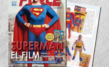 """Revista Superman 348x215 - Revista """"Especial 80 años con el Hombre de Acero"""", un tributo a Christopher Reeve"""