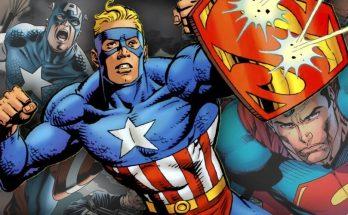 Super Soldier Amalgama 348x215 - Cómo Superman y Capitán América se unieron en la línea Amalgam