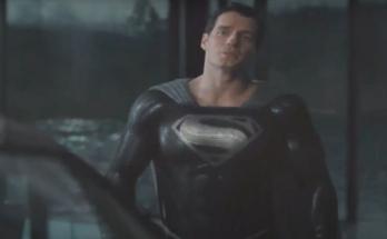 """Traje negro Superman 348x215 - Zack Snyder revela la nueva escena del corte de la """"Liga de la Justicia"""" con Superman de traje negro"""