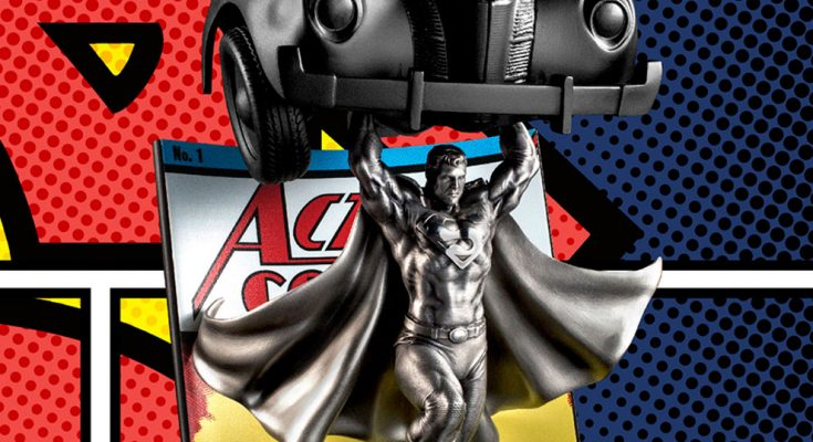 superman action comics 1 sideshow 1 735x400 - Sideshow Collectibles lanzará una figura de Superman en la portada de Action Comics #1