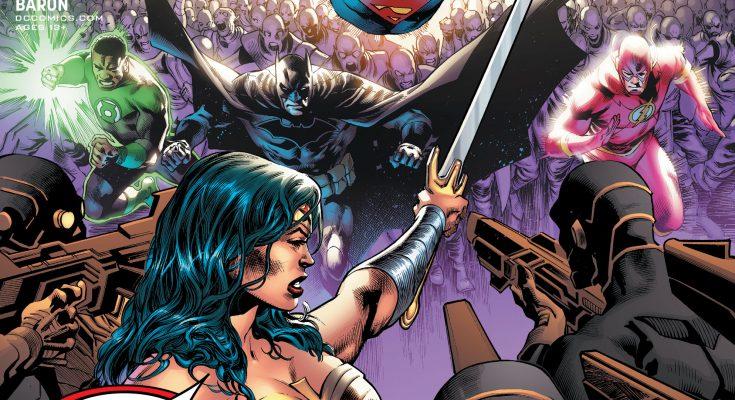 Portada Justice League 49