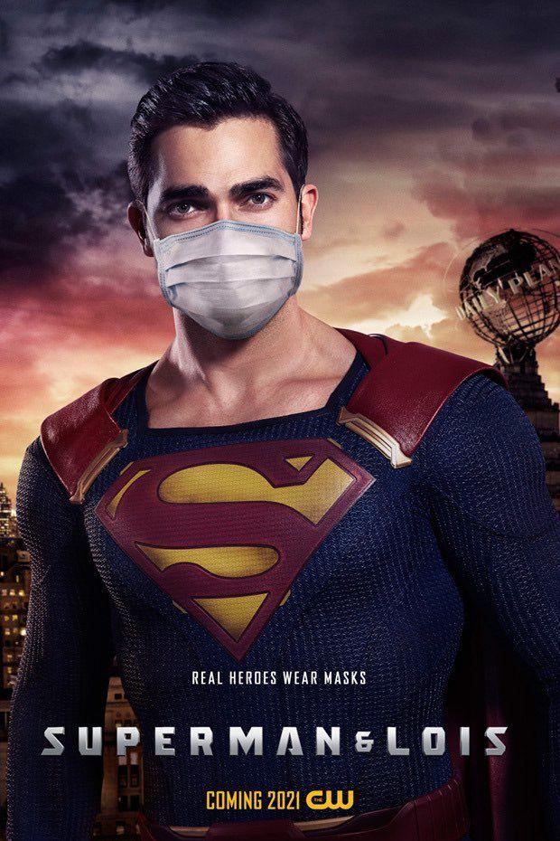 Masked Superman - The CW inicia una campaña de concienciación del uso de mascarillas con los héroes del Arrowverso