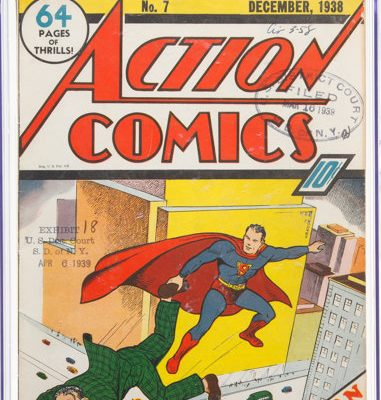 Action Comics 7 copia de la corte