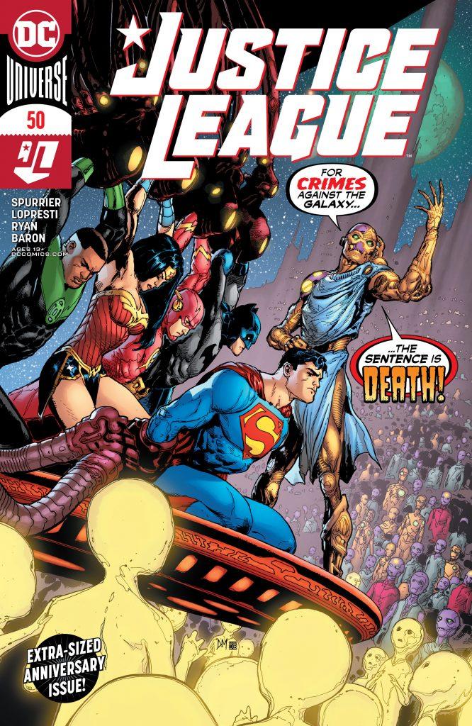 Justice League 050 000 666x1024 - Reseña de Justice League Vol. 4 #50