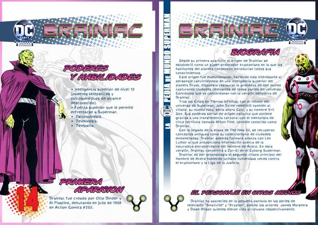 DCpedia: Brainiac