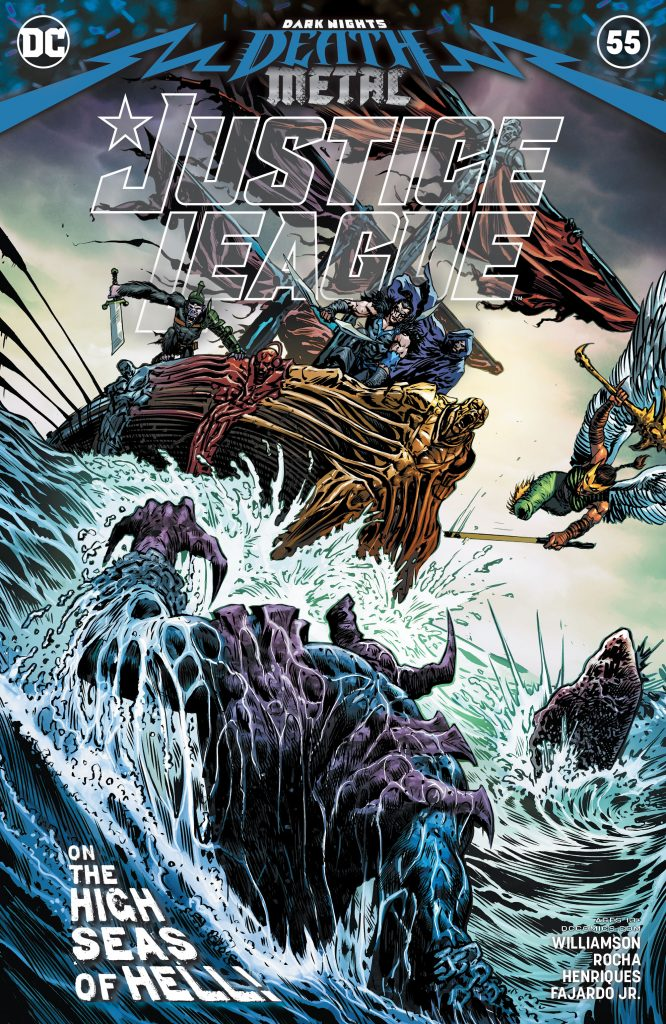 Justice League 055 000 666x1024 - Reseña de Justice League Vol. 4 #55