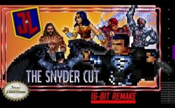 "Justice League: The Snyder Cut"" 16-bit Trailer"