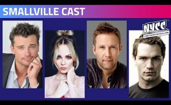 Reparto de Smallville Comic Con Nueva York