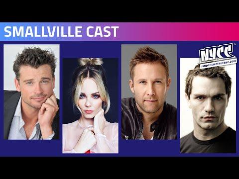 Reparto de Smallville Comic Con Nueva York