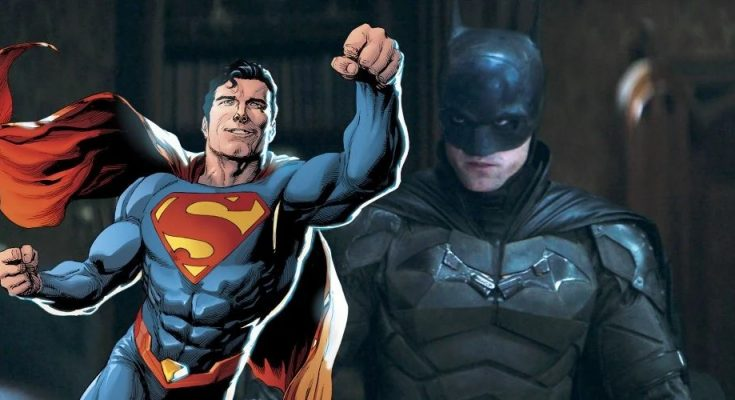 Superman en The Batman