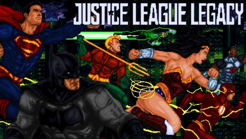 Videojuego Justice League Legacy - Descarga el videojuego fan-made Justice League Legacy