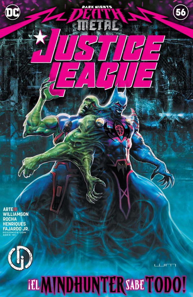 Justice League 056 000 666x1024 - Reseña de Justice League Vol. 4 #56