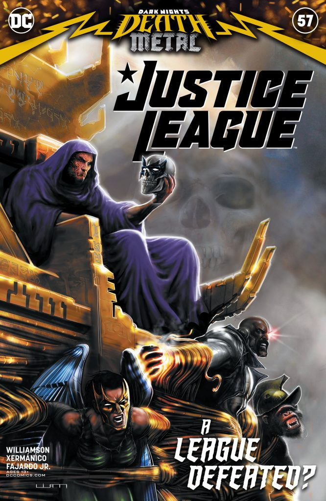 Justice League 057 000 1 666x1024 - Reseña de Justice League Vol. 4 #57