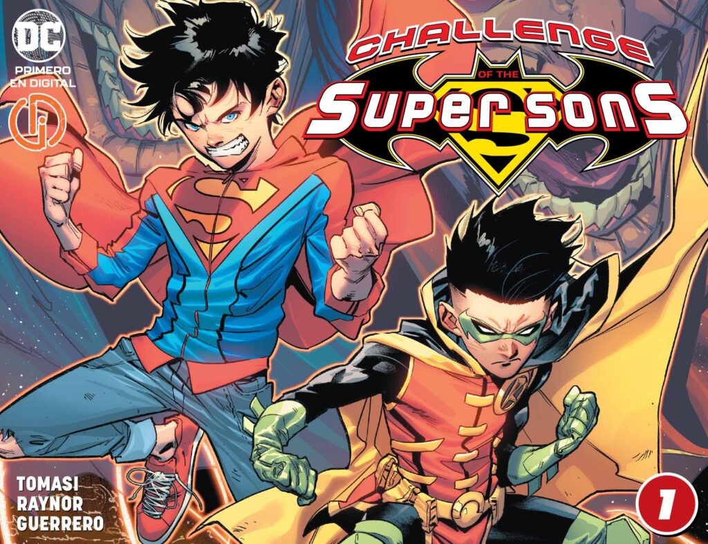 Challenge of the Super Sons 2020 001 000 1024x787 - Reseña de Challenge of the Super Sons #1