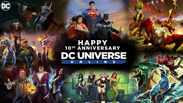 10º Aniversario DC Universe Online
