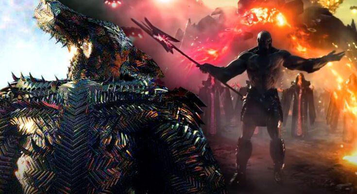 Darkseid y Steppwolf