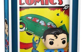 Funko Superman portada Action Comics