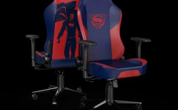 Silla gamer de Superman