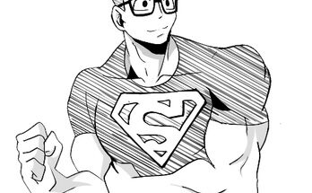 Superman My Hero Academia
