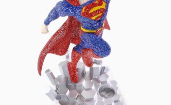 Edición limitada de la figura de Superman de Swarovski
