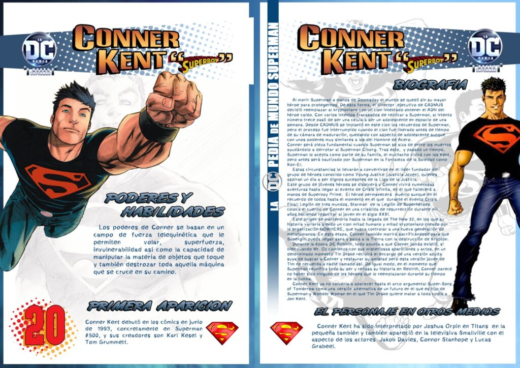 Conner Kent 3 1024x724 - DCpedia de Mundo Superman de Conner Kent alias Superboy