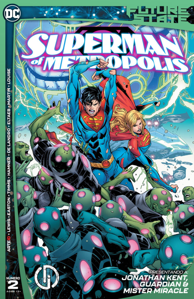Future State 2021 Superman of Metropolis 002 000 666x1024 - Reseña de DC Future State: Superman of Metropolis #2