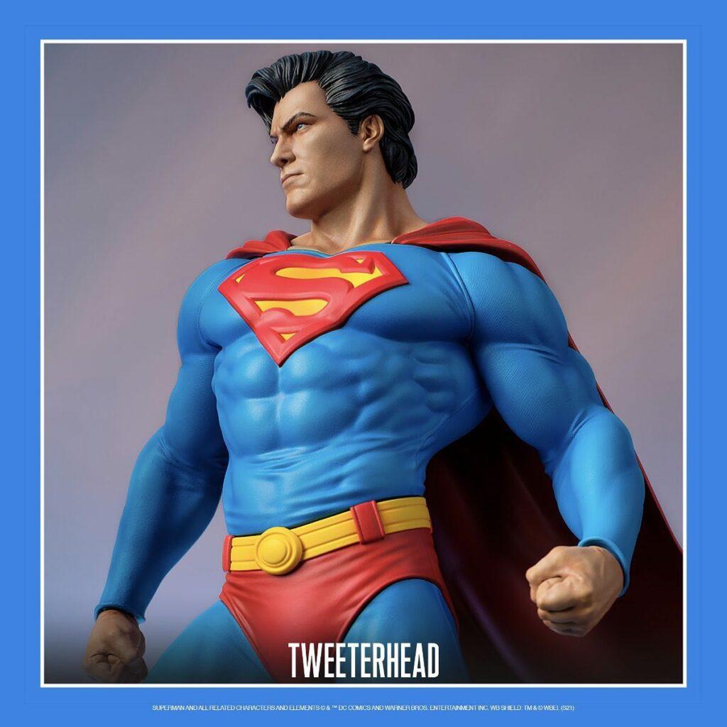 tweeterhead superman maquette 1024x1024 - Tweeterhead anuncia la maqueta de Superman a escala 1:6