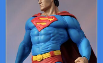 Tweeterhead maqueta de Superman