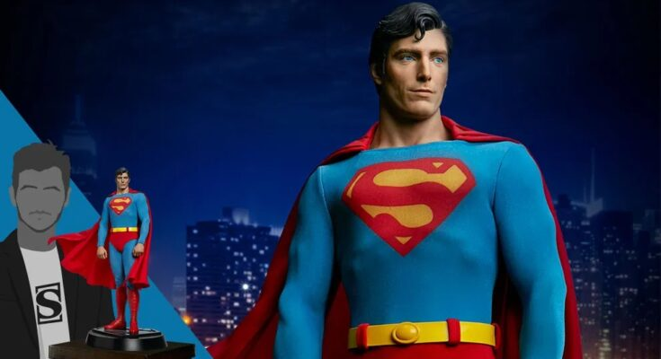 "Figura de Sideshow Collectibles de ""Superman: The Movie"""