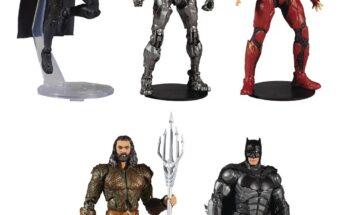 Figuras de McFarlane Toys de la Liga de la Justicia de Zack Snyder